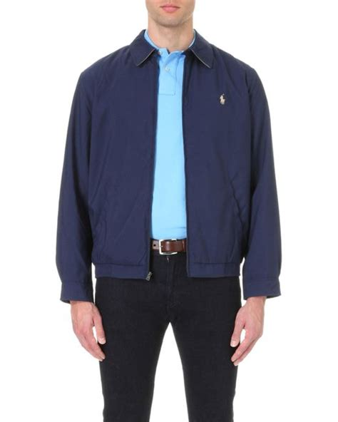 ralph lauren bi swing polo ralph lauren new fit bi swing windbreaker jacket in