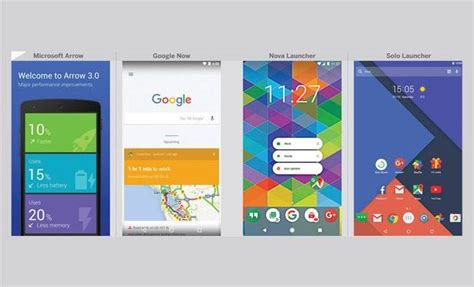 best launcher app the best 4 app launchers for your android device to remove