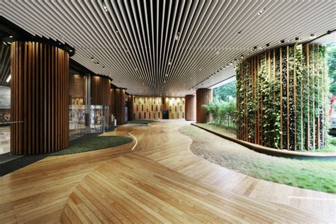 Architectural Design Software office lobby 4n design architects archdaily