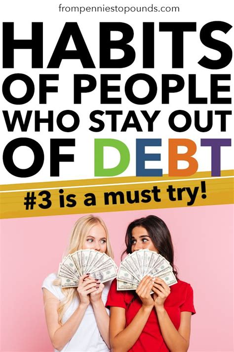 smart habits  people  stay   debt art