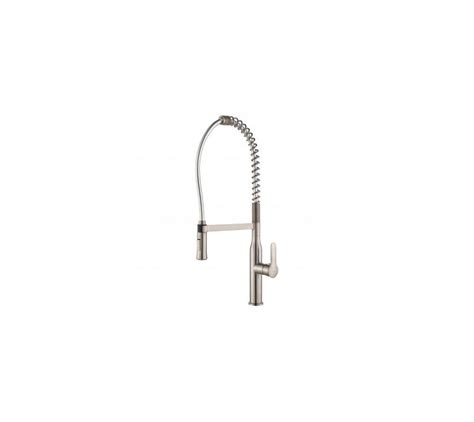 kraus kpf 1650 nola single lever commercial style kitchen kraus kpf 1650 chrome nola single lever commercial style