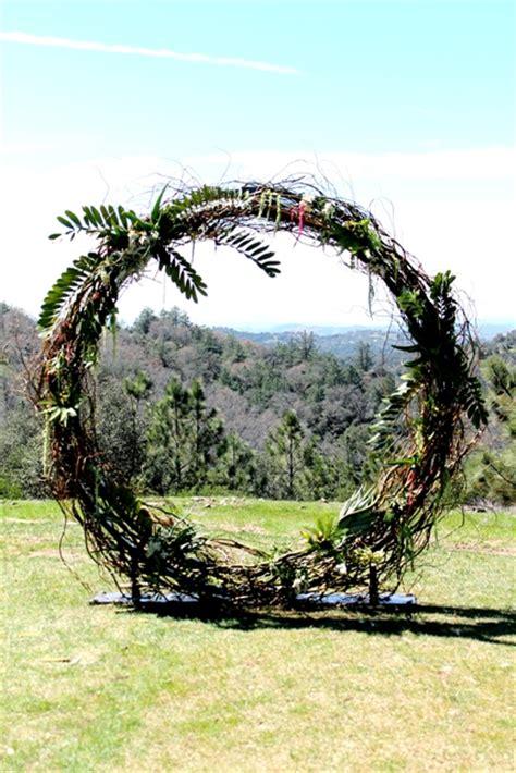 Wedding Arch Circle by Circle And Semi Circle Arch Wedding Rentals And
