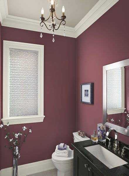 ideas for painting bathroom walls best 25 plum bathroom ideas on pinterest purple
