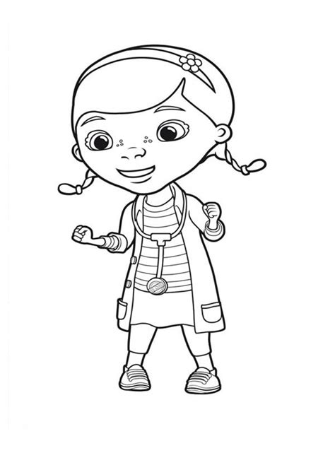 doc mcstuffins birthday coloring pages free coloring pages of dr mc stuffin