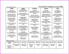 Preschool Lesson Plan Template Word by Resume Business Template Free Preschool Lesson Plan Template