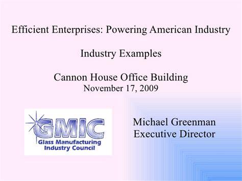 efficient enterprises powering american industry industry exle