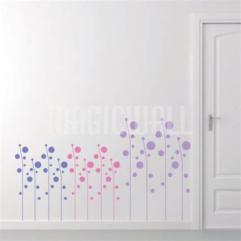 circle wall stickers circle grasses wall decals canada wall stickers