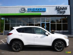 2016 white pearl mica mazda cx 5 grand touring awd