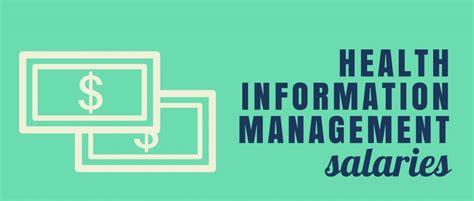 Mba Healthcare Management Health Information Management Health Salary by 6 Highest Health Information Management Salaries