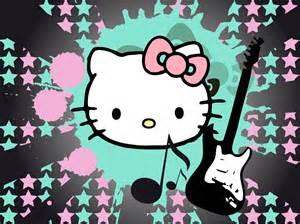 music derived kitty kitty wallpaper