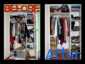 Closet Makeover Style Before After Closet Makeover