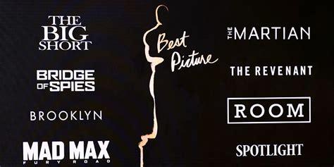 film da oscar 2016 quali sono i candidati a quot miglior film quot per gli oscar 2016