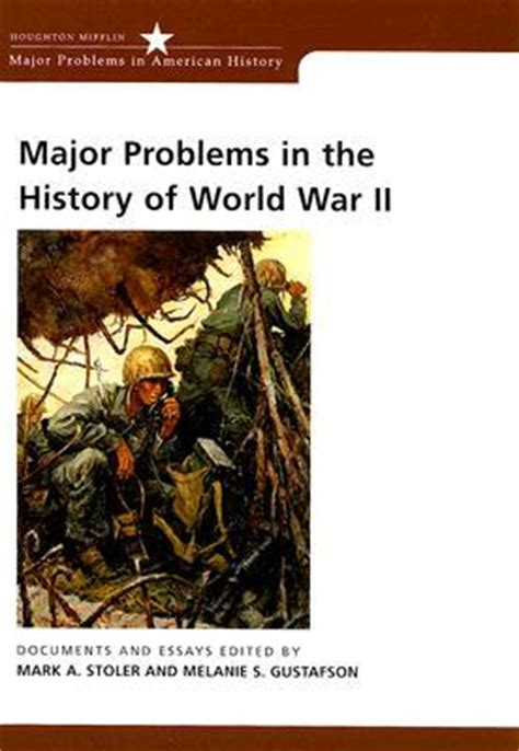 problems of neurosis a book of histories books major problems in the history of world war ii documents
