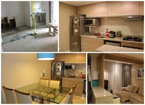 reforma pequeno apartamento reforma de apartamento por onde come 231 ar fotos de antes