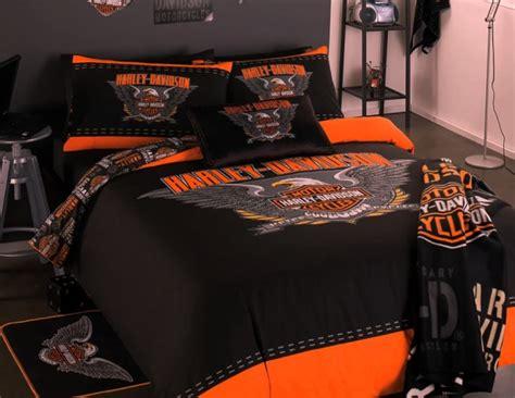 harley davidson queen comforter set harley davidson 2 pce single size quilt doona cover