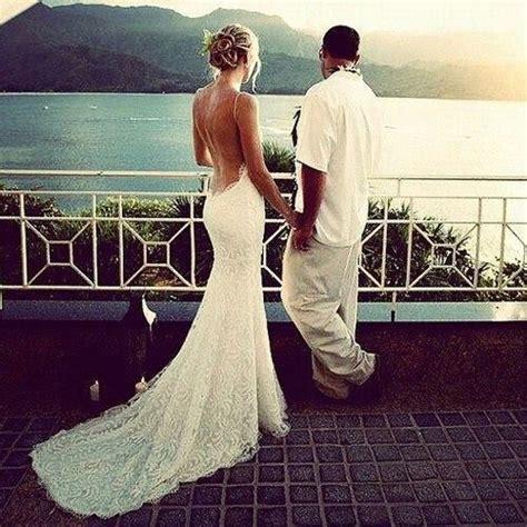 low back wedding dress wedding inspiration pinterest