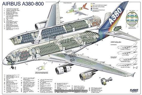 aus 8a steel quality airbus a380 800 cutaway poster photo prints 1570883
