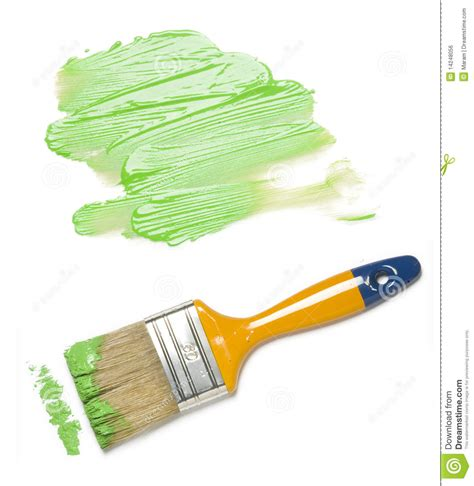 paint brush with color painting royalty free stock image image 14248056
