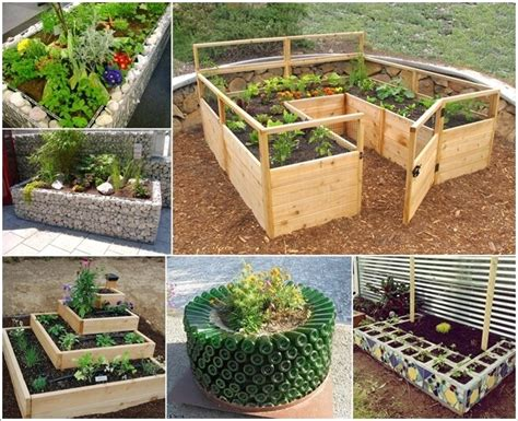 cool garden ideas 10 unique and cool raised garden bed ideas