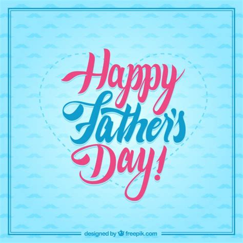 free happy day images typographic happy fathers day card vector free