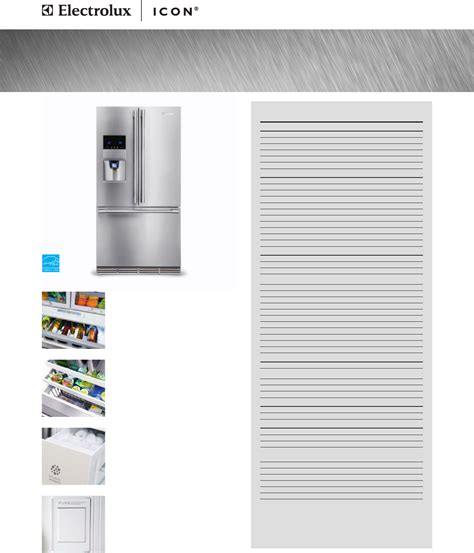 electrolux door refrigerator manual electrolux refrigerator e23bc78ips user guide