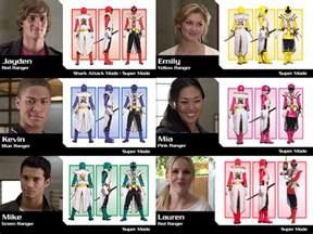 power ranger names and colors power rangers samurai season 19 mode by gera27