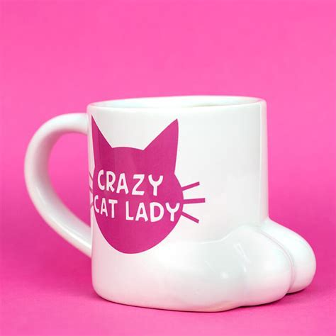Crazy Cat Lady Mug   Buy from Prezzybox.com