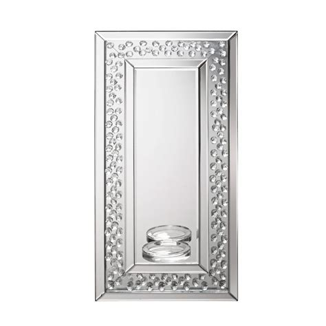 ls plus wall mirrors lpd furniture valentina wall sconce mirror leader stores