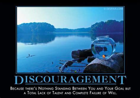 Meme Poster - discouragement fish despair inc