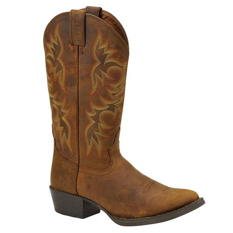 mens toe boots justin boots stede western toe s boot