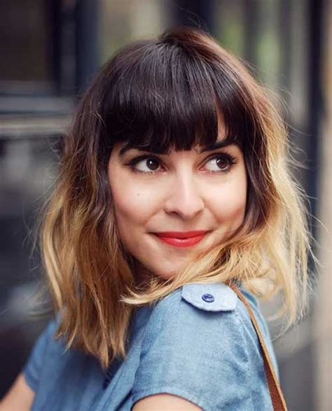 do short blunt curly haircuts look good on heavy women best medium length hairstyles for thick hair