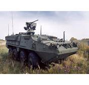 Stryker Is A Family Of Eight Wheel Drive Combat Vehicles