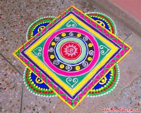 indian festive season 2017 simple free rangoli