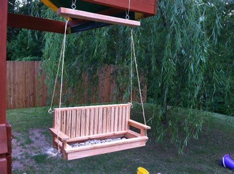 bird feeder swing porch swing bird feeder by chris mcdowell lumberjocks