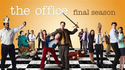 The Office Season 9 Cast by The Office Season 9 Poster Officetally