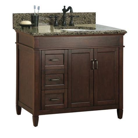 home depot granite bathroom vanity foremost ashburn 37 in w x 22 in d bath vanity cabinet