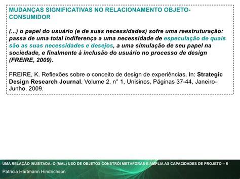 strategic design research journal unisinos uma rela 231 227 o inusitada o mal uso de objetos constr 243 i