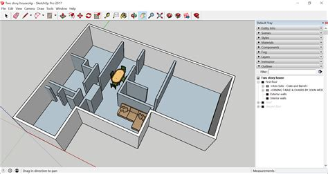 sketchup layout hidden geometry working with hierarchies in the outliner sketchup help