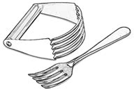 Pastry Blender Drawing
