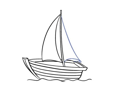 boat drawing easy step by step how to draw a boat in a few easy steps easy drawing guides