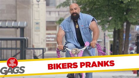 best of just for laughs bikers pranks best of just for laughs gags