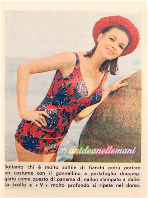 costume da bagno anni 60 moda mare vintage abiti e costumi da bagno anni 60
