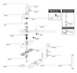 moen kitchen faucet repair diagram moen 7425 parts list and diagram after 10 10