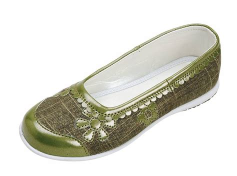 embroidered flat shoes olive embroidered ballet flat shoes