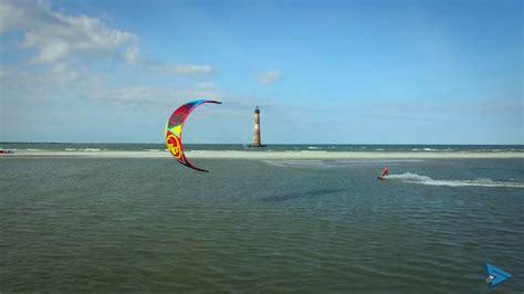 Charleston Kiteboarding with Session Sports - YouTube Kitesurfing School South Carolina