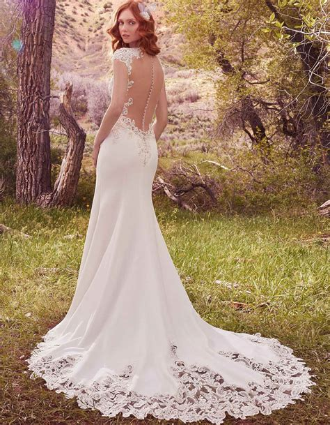 wedding dress sottero vintage inspired wedding dress with feature back odette