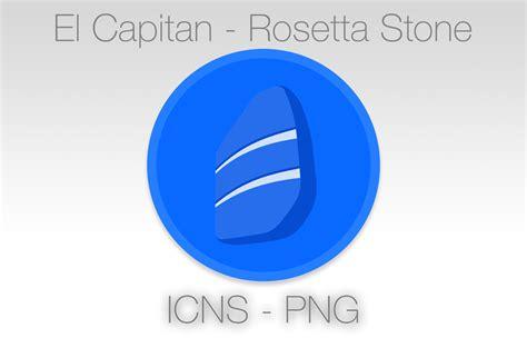 rosetta stone yosemite el capitan rosetta stone icon by morphfxf on deviantart