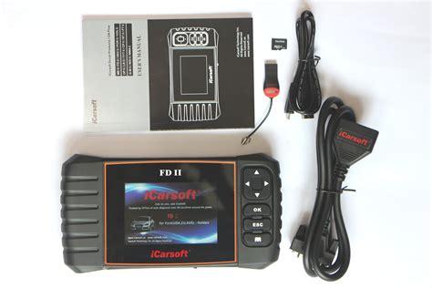 Kabel Data Link Ecu Apitech icarsoft fdii obd tiefendiagnose passt bei ford flex ecu abs airbag 4250557145228 ebay