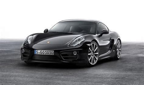 cayman porsche black 2016 porsche cayman gets black edition treatment