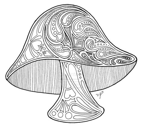 adult coloring pages psychedelic mushroom coloring pages